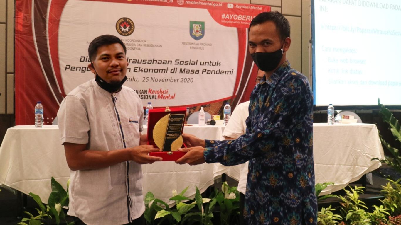 Kegiatan Dialog Kewirausahaan Sosial untuk Pelaku UMKM Provinsi Bengkulu