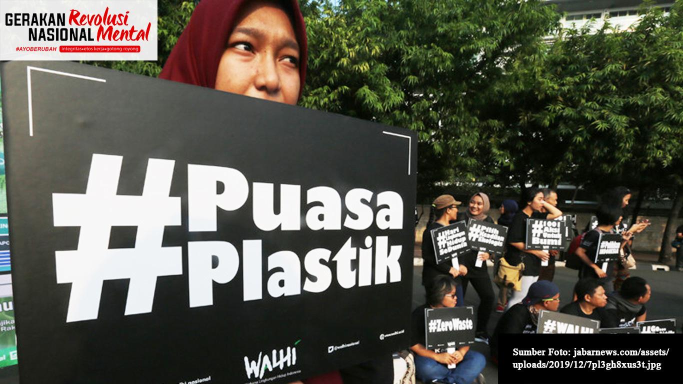 Remaja serukan gerakan tanpa plastik di Bekasi