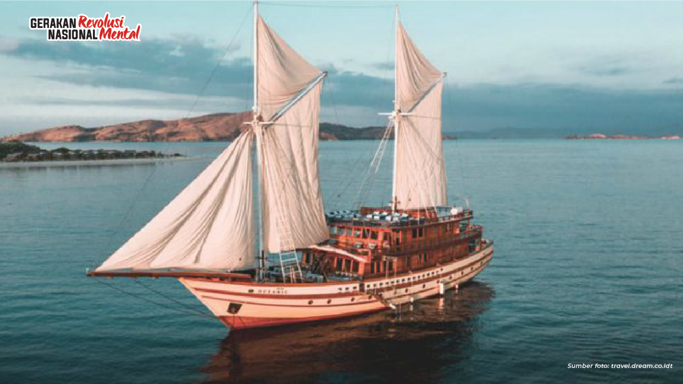 Pinisi, Kapal Kayu Tradisional Indonesia yang Menjelajahi Dunia