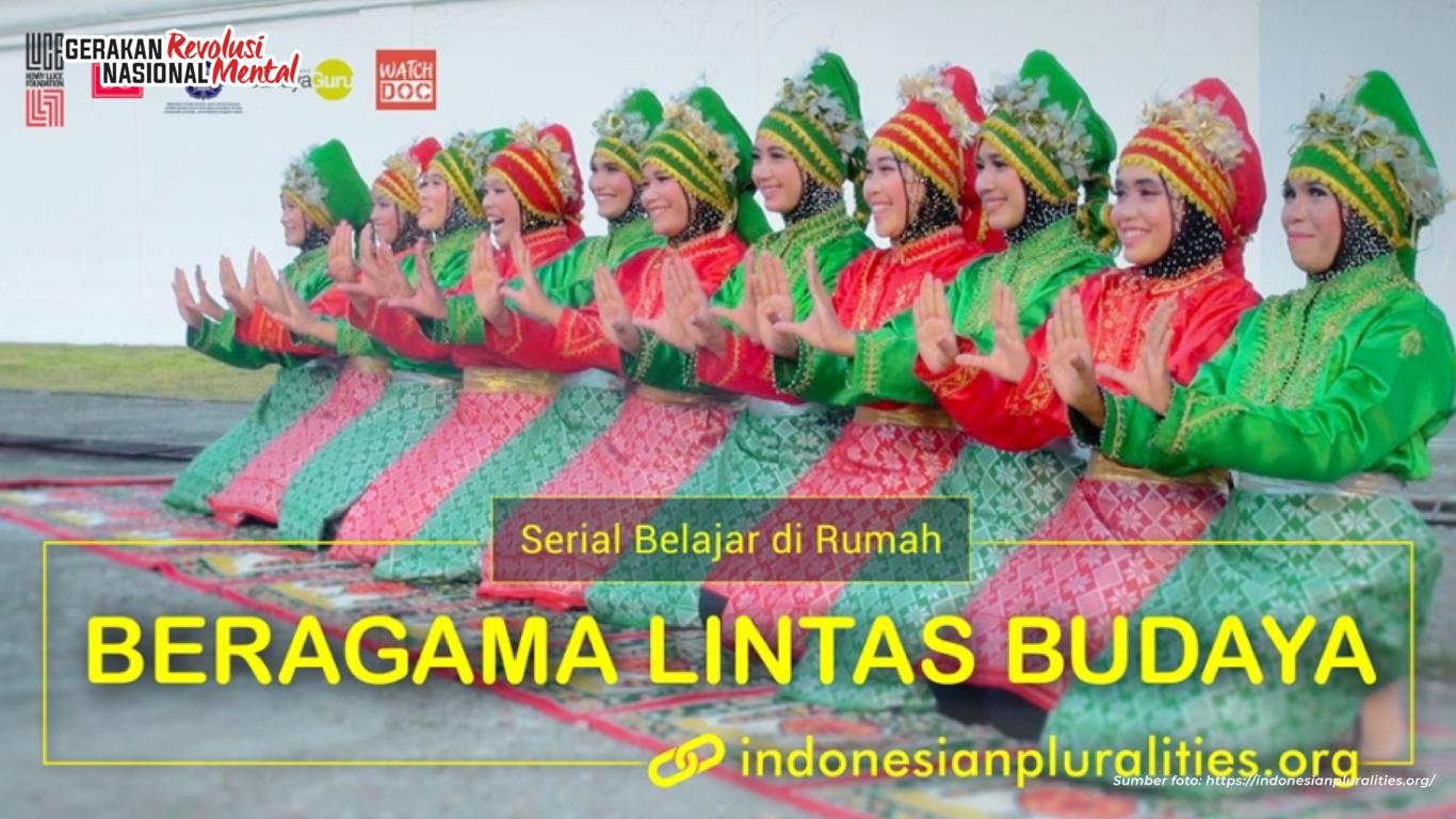 Film pendek berjudul Beragama Lintas Budaya mengajarkan bentuk-bentuk ekspresi keagamaan melalui keragaman seni dan budaya yang ada di daerah Indonesia