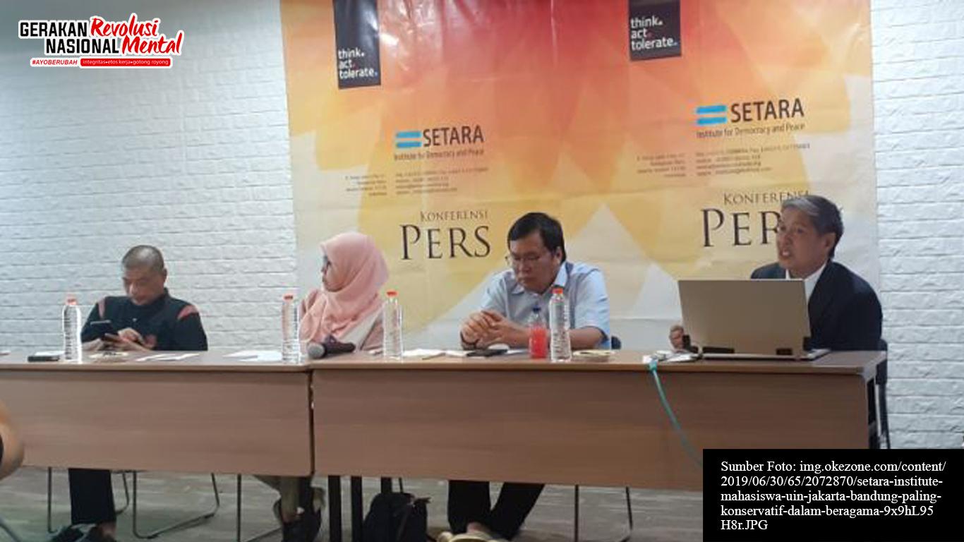 Konferensi pers Setara Institute