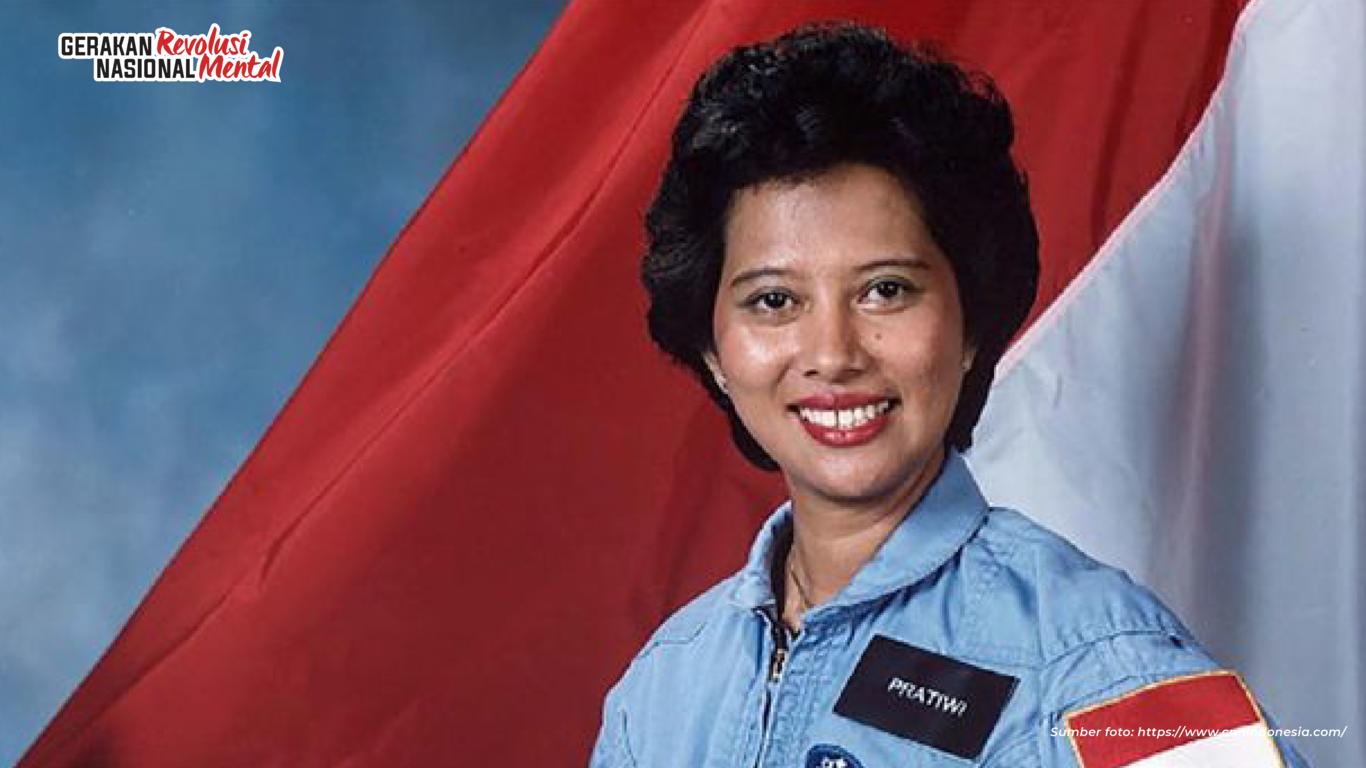 Pratiwi Sudarmono jadi astronot perempuan pertama Indonesia dan Asia yang diikutkan dalam misi pesawat ulang-alik NASA