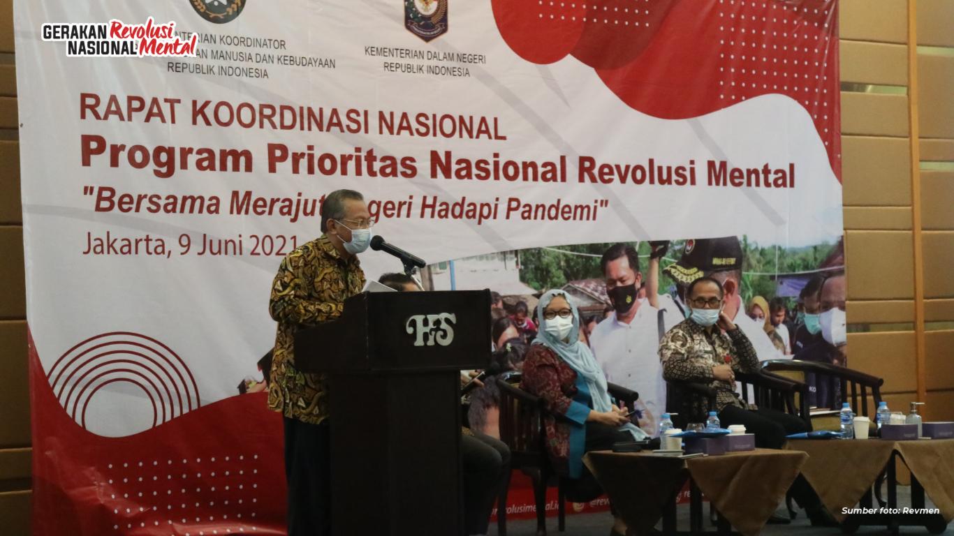 Rapat Koordinasi Nasional (Rakornas) digelar sehubungan ditetapkannya Revolusi Mental  pada RPJMN 2020-2024 yang akan dilanjutkan melalui Revitalisasi Revolusi Mental