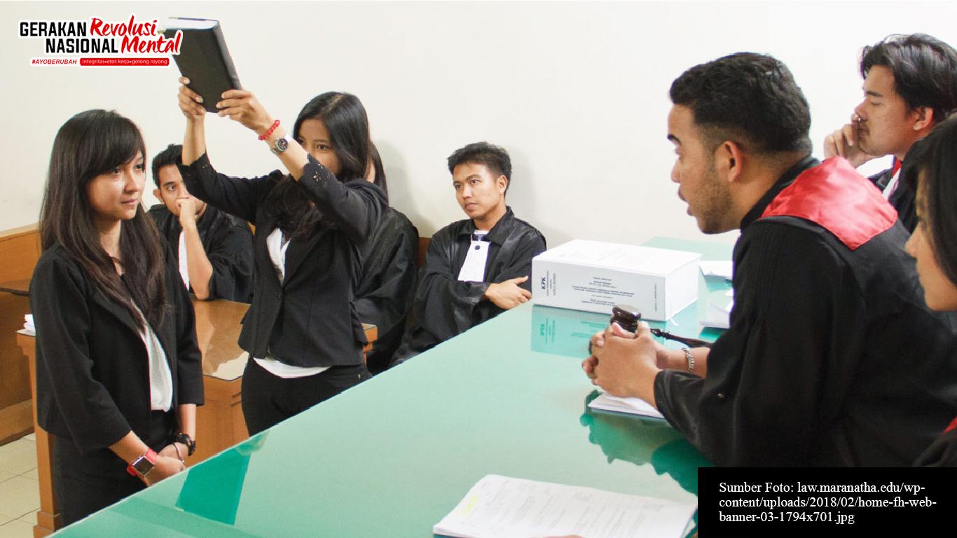 Simulasi sidang mahasiswa