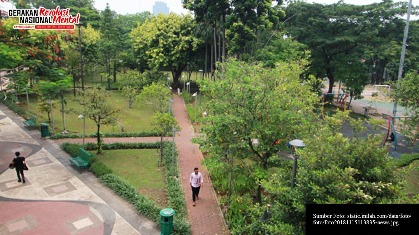 Ruang Terbuka Hijau (RTH) di Jakarta