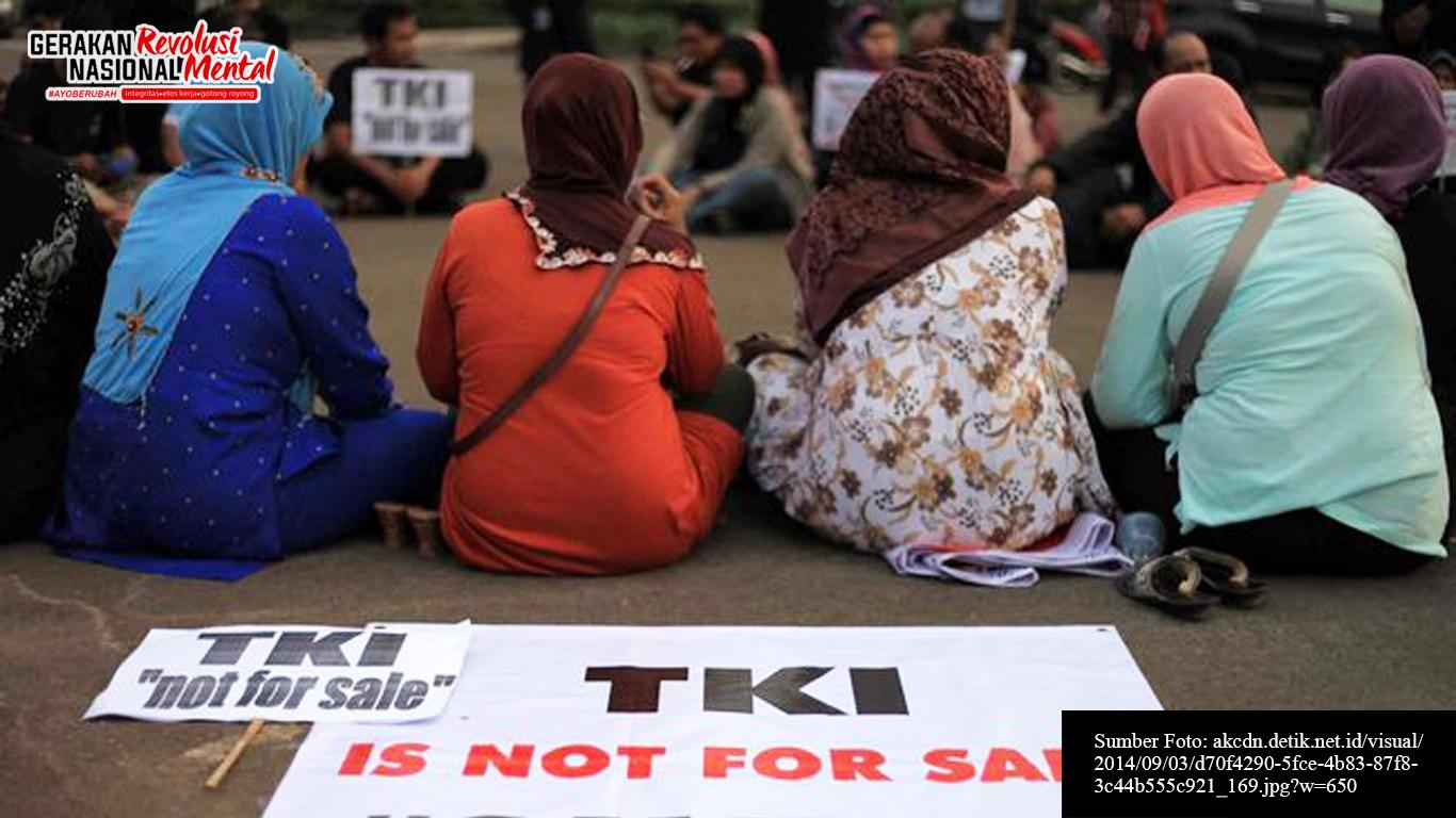 Demonstrasi buruh migran