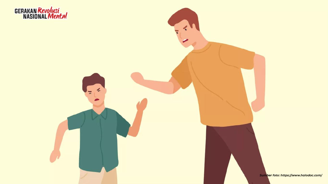 Mendidik anak dengan cara kekerasan membawa dampak negatif bagi tumbuh kembang anak ke depannya hingga dewasa