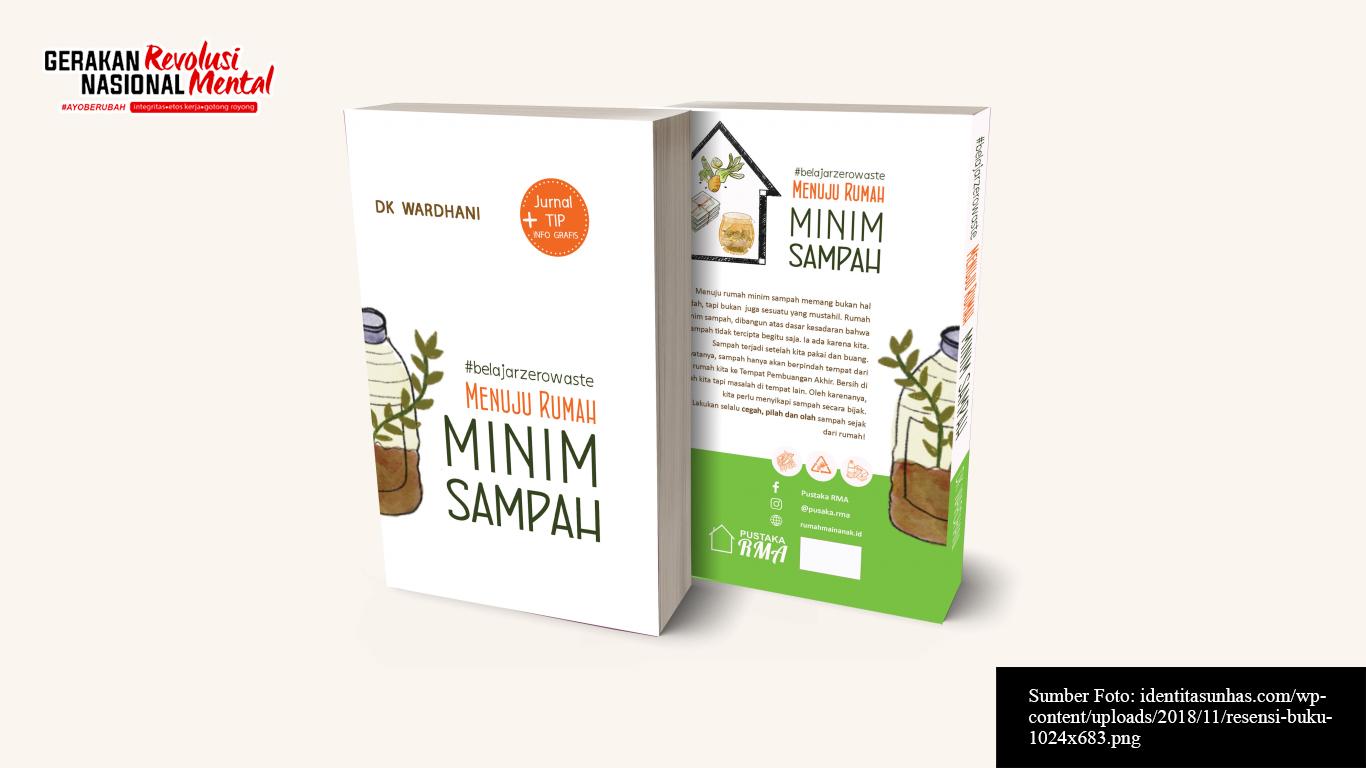 """Cover buku """"Menuju Rumah Minim Sampah"""" karya DK Wardhani"""