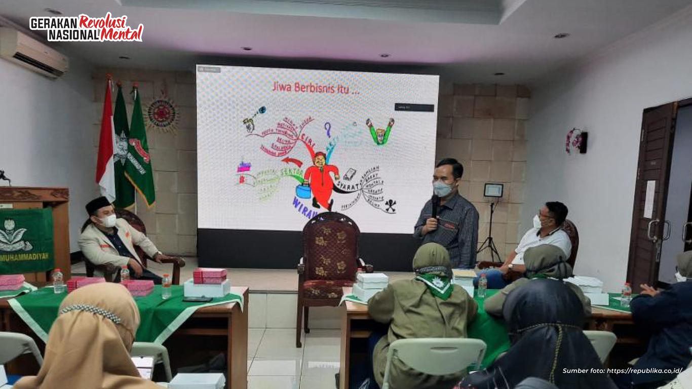 Pimpinan Wilayah Pemuda Muhammadiyah Bali bekerja sama dengan Kemenko PMK menggelar seminar kewirausahaan