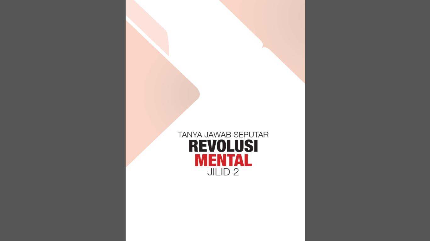 buku tanya jawab revolusi mental