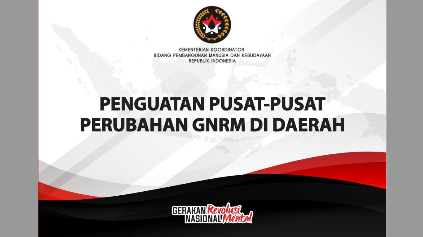 Laporan Penguatan Pusat-Pusat Perubahan GNRM di Daerah Tahun 2020