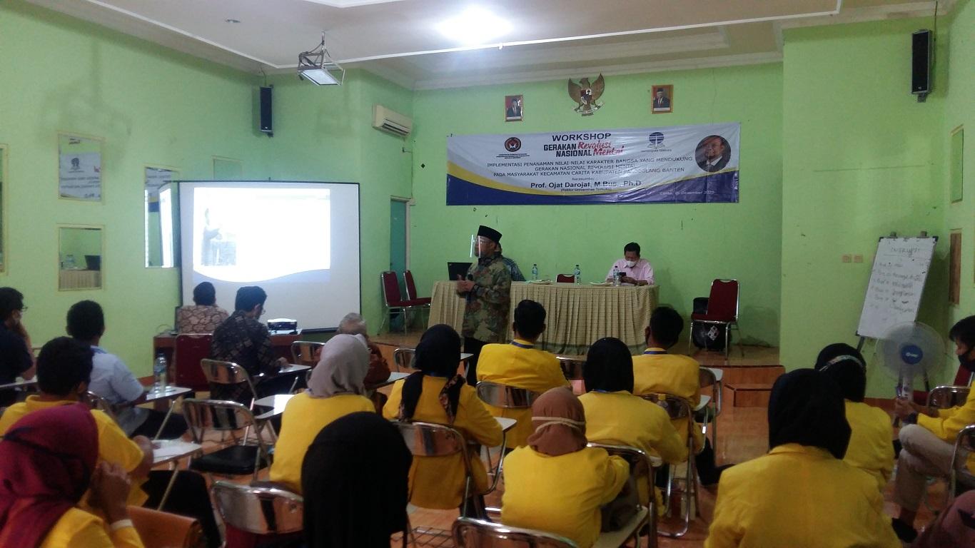 Implementasi Gerakan Nasional Revolusi Mental (GNRM) di Kecamatan Carita, Kabupaten Pandeglang, Provinsi Banten