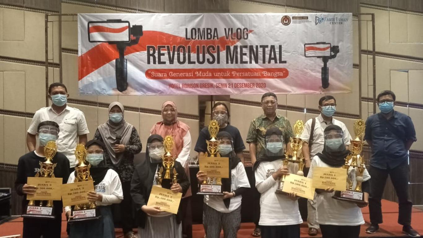 Lomba Video Blog/ Vlog Revolusi Mental Persatuan Bangsa