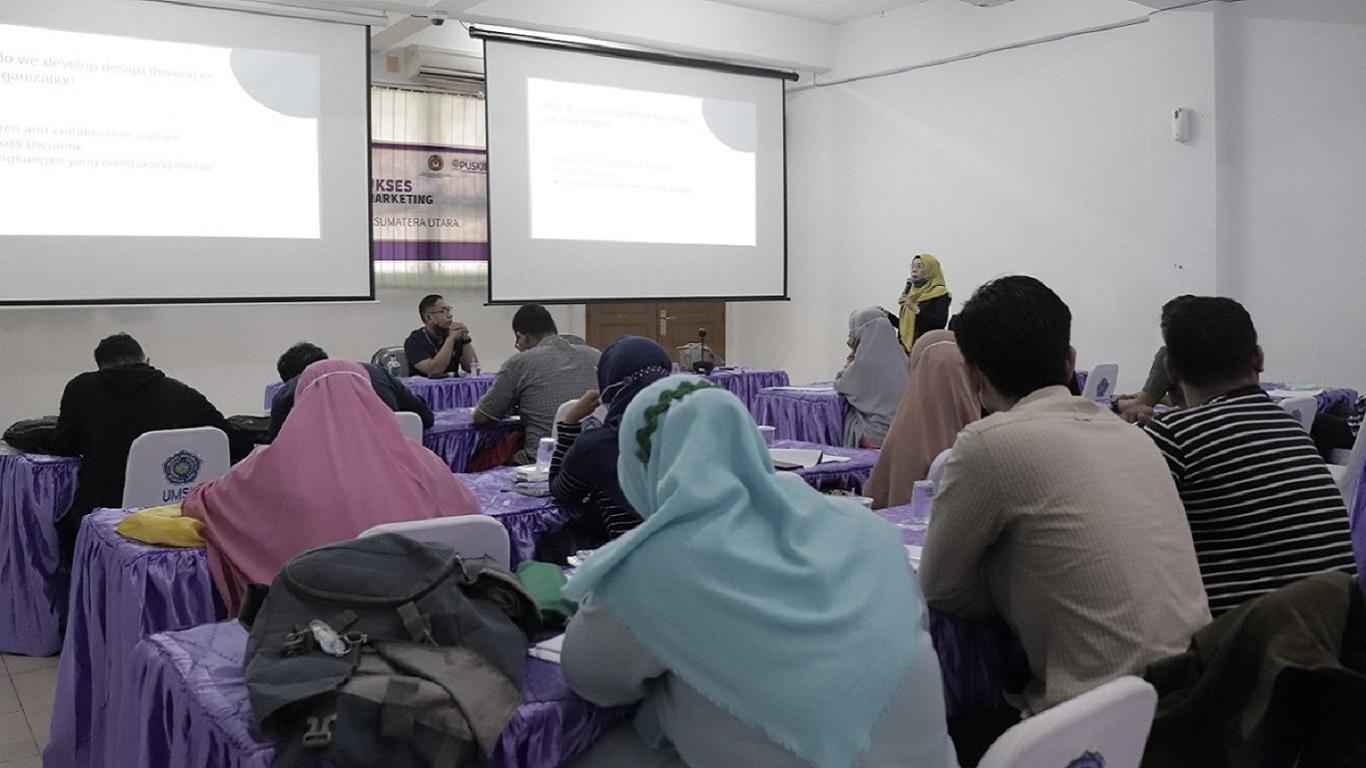 Kegiatan pelatihan untuk PUSKIIBI untuk implementasi gerakan indonesia mandiri