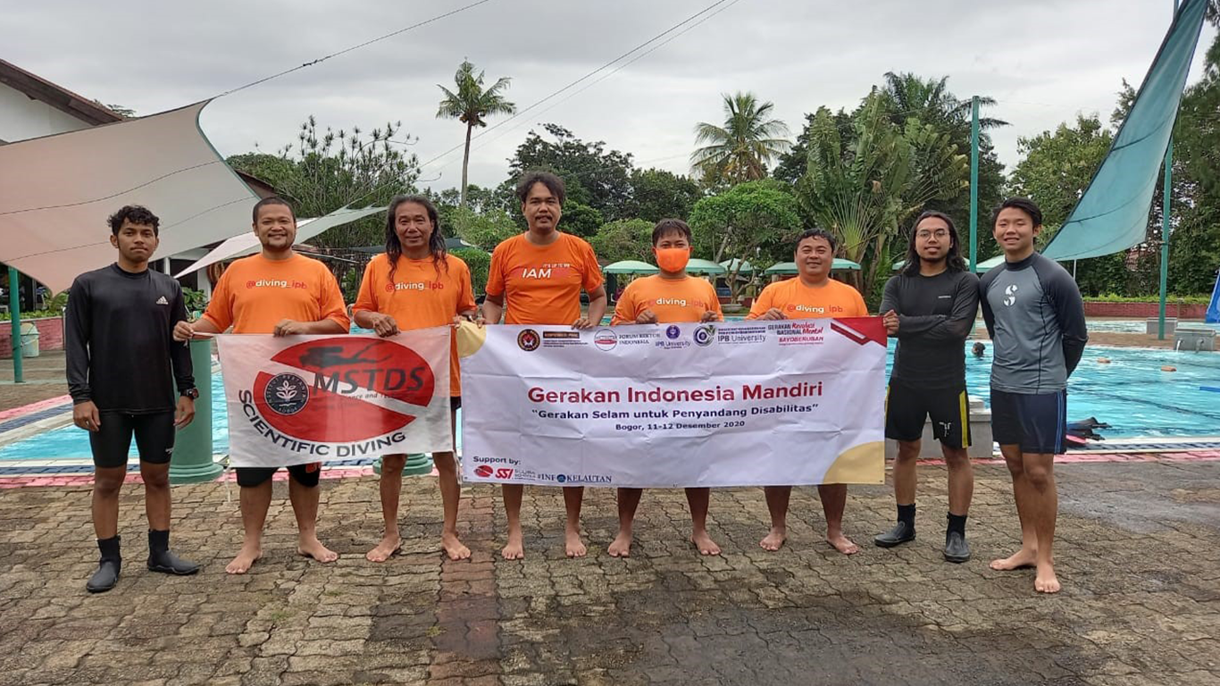 Gerak IPB untuk Indonesia Mandiri, Berdedikasi Lewat Selam, Wirausaha hingga Seni